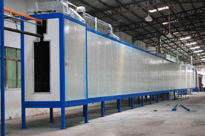 环氧树脂静电喷涂-高温固化